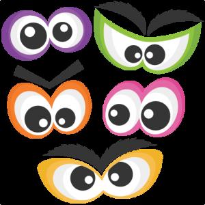 Halloween Spooky Eye Set SVG scrapbook cut file cute clipart files for silhouette cricut pazzles free svgs free svg cuts cute cut files