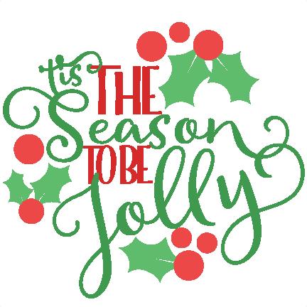 Christmas Tis The Season Phrase Svg Scrapbook Cut File Cute Clipart Files For Silhouette Cricut Pazzles Free Svgs Free Svg Cuts Cute Cut Files