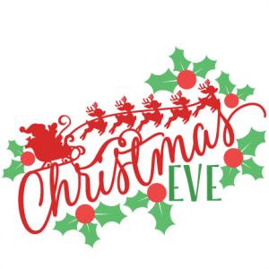 Christmas Eve Phrase SVG scrapbook cut file cute clipart files for silhouette cricut pazzles free svgs free svg cuts cute cut files