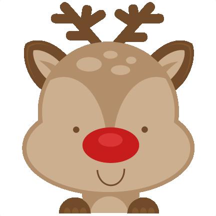 eac418ae1 Peeking Reindeer SVG scrapbook cut file cute clipart files for silhouette  cricut pazzles free svgs free svg cuts cute cut files