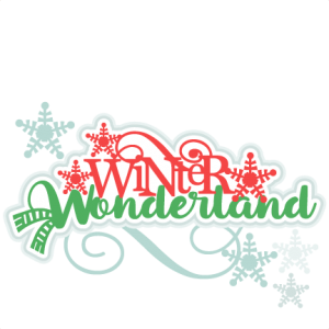 Winter Wonderland Title SVG scrapbook cut file cute clipart files for silhouette cricut pazzles free svgs free svg cuts cute cut files