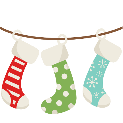 Christmas Stockings SVG scrapbook cut file cute clipart files for ...
