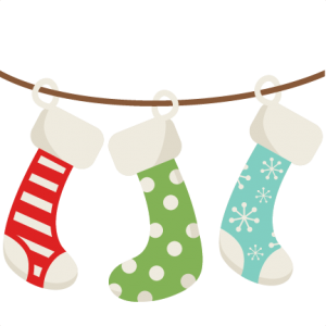 Christmas Stockings SVG scrapbook cut file cute clipart files for silhouette cricut pazzles free svgs free svg cuts cute cut files