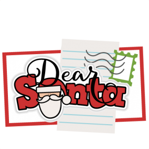 Dear Santa Title SVG scrapbook cut file cute clipart files for silhouette cricut pazzles free svgs free svg cuts cute cut files