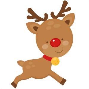 Christmas Reindeer scrapbook cut file cute clipart files for silhouette cricut pazzles free svgs free svg cuts cute cut files