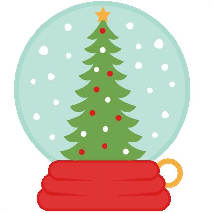 Christmas Tree Snow Globe Svg Scrapbook Cut File Cute Clipart Files For Silhouette Cricut Pazzles Free Svgs Free Svg Cuts Cute Cut Files