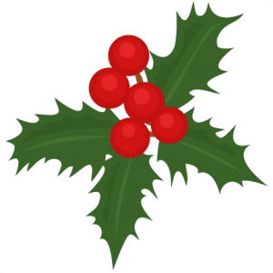 Christmas Holly scrapbook cut file cute clipart files for silhouette cricut pazzles free svgs free svg cuts cute cut files