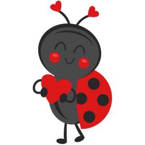 Valentine Ladybug SVG scrapbook cut file cute clipart files for silhouette cricut pazzles free svgs free svg cuts cute cut files