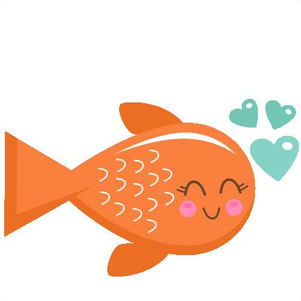 Valentine Fish Svg Scrapbook Cut File Cute Clipart Files For Silhouette Cricut Pazzles Free Svgs Free Svg Cuts Cute Cut Files