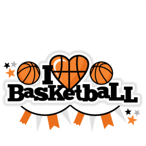 I Heart Basketball Title scrapbook cut file cute clipart files for silhouette cricut pazzles free svgs free svg cuts cute cut files