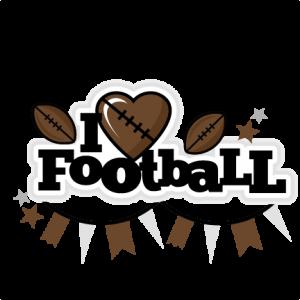 I Heart Football Title scrapbook cut file cute clipart files for silhouette cricut pazzles free svgs free svg cuts cute cut files