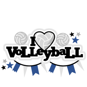 I Heart Volleyball Title scrapbook cut file cute clipart files for silhouette cricut pazzles free svgs free svg cuts cute cut files