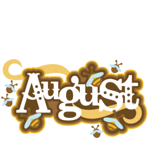August Title SVG scrapbook cut file cute clipart files for silhouette cricut pazzles free svgs free svg cuts cute cut files