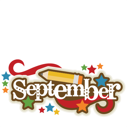 September Title SVG scrapbook cut file cute clipart files for ... | title