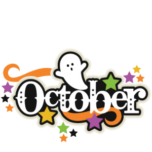 October Title SVG scrapbook cut file cute clipart files for silhouette cricut pazzles free svgs free svg cuts cute cut files