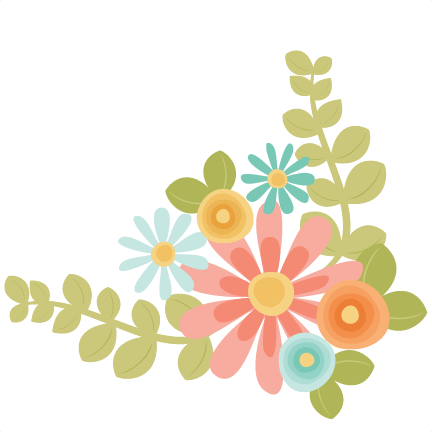 Flowers cut file for scrapbooking flower free flower svg file free cut - Flowers Svg Scrapbook Cut File Cute Clipart Files For