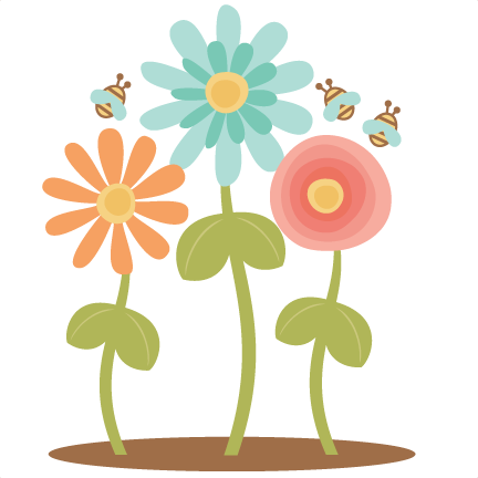 Flowers SVG scrapbook cut file cute clipart files for ...