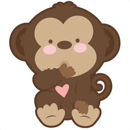 Monkey silhouette png - photo#21