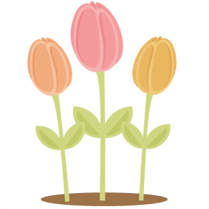 Flowers Tulips SVG scrapbook cut file cute clipart files for silhouette cricut pazzles free svgs free svg cuts cute cut files