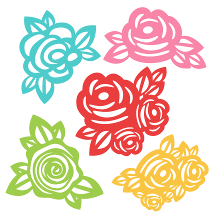 Download Flowers SVG scrapbook cut file cute clipart files for ...