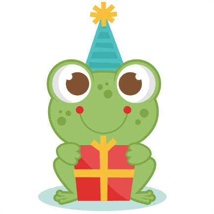 frog birthday Birthday Frog SVG scrapbook cut file cute clipart files for  frog birthday