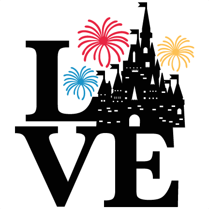 Love Castle Title Svg Scrapbook Cut File Cute Clipart