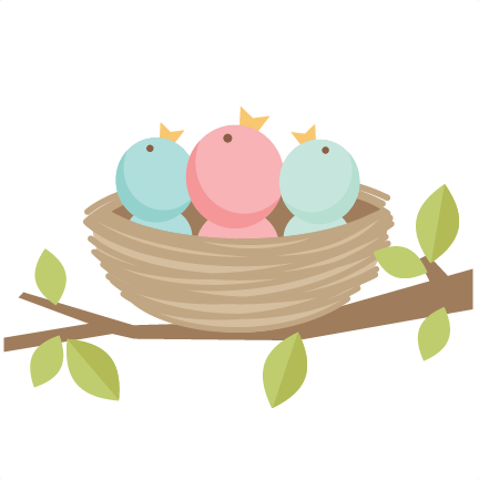 Baby Birds SVG scrapbook cut file cute clipart files for ...