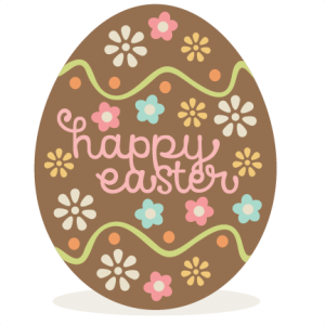 Chocolate Easter Egg SVG scrapbook cut file cute clipart files for silhouette cricut pazzles free svgs free svg cuts cute cut files