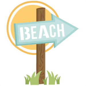 Miss Kate Beach Sign SVG Cut File