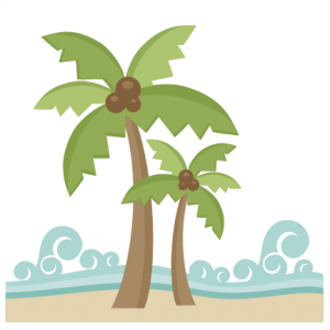 Miss Kate Cuttables Beach Scene SVG Cut File