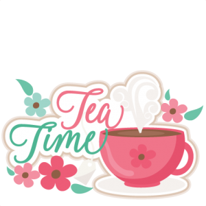Tea Time Title SVG scrapbook cut file cute clipart files for silhouette cricut pazzles free svgs free svg cuts cute cut files