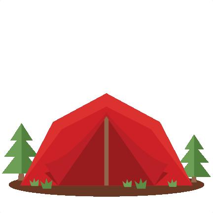 Tent SVG scrapbook cut file cute - 13.6KB