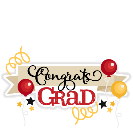 congrats grad title svg scrapbook cut file cute clipart files for