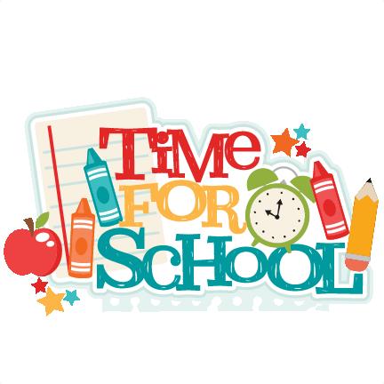 School Memories Clipart