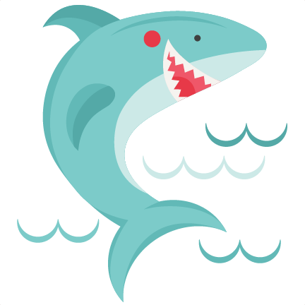 Smiling Shark SVG Scrapbook Cut File Cute Clipart Files For Silhouette Cricut Pazzles Free Svgs Svg Cuts