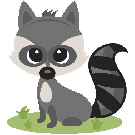 Boy Raccoon SVG scrapbook cut file cute clipart files for ... Raccoon Face Clip Art
