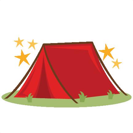 Camping Tent SVG scrapbook cut - 17.5KB