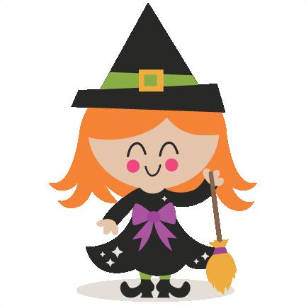 Witch SVG scrapbook cut file cute clipart files for ...