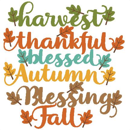 d5790f060811d Autumn Words SVG Scrapbook Cut File Cute Clipart Files For Silhouette  Cricut Pazzles Free Svgs