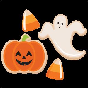 Halloween Treats SVG scrapbook cut file cute clipart files ...
