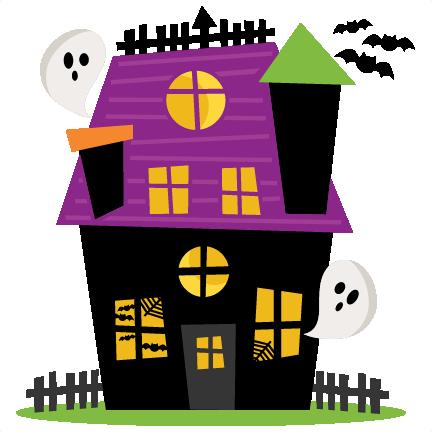 Haunted House SVG scrapbook cut file cute clipart files ...