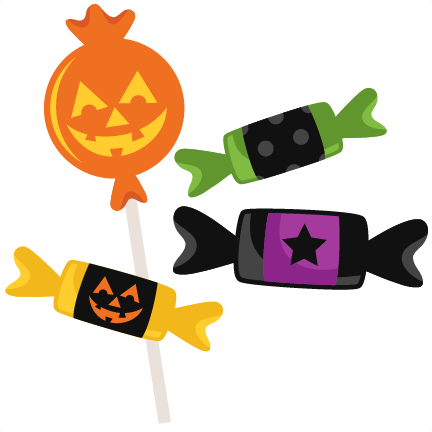 Halloween Candy SVG scrapbook cut file cute clipart files for ...