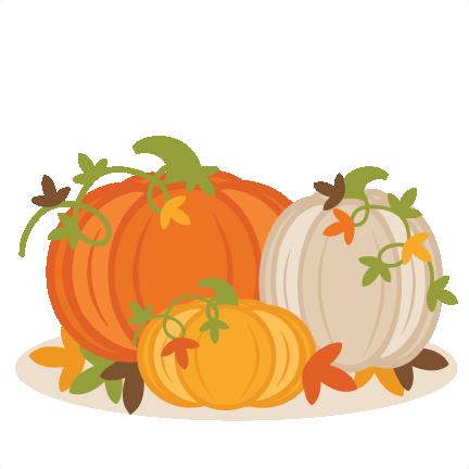 Fall Pumpkin Group SVG scrapbook cut file cute clipart ...