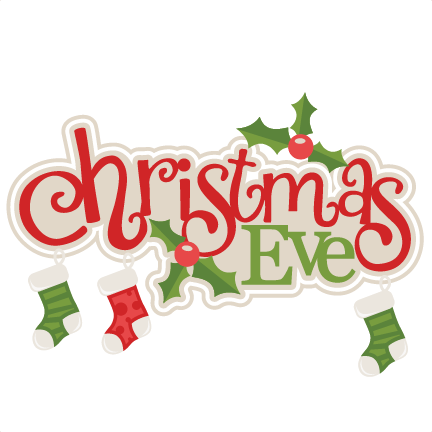 christmas eve title with stockings svg scrapbook cut file reindeer clipart free vector reindeer clipart free black
