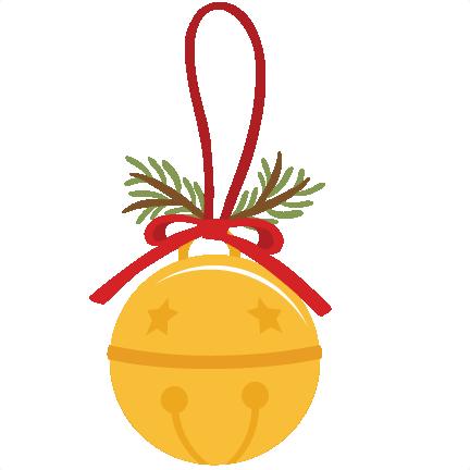 Jingle Bell SVG scrapbook cut file cute clipart files for ...