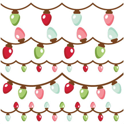 Search - Christmas Lights SVG Scrapbook Cut File Cute Clipart Files For