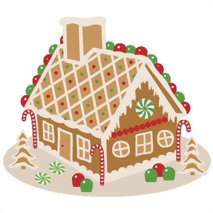 Gingerbread House Svg Scrapbook Cut File Cute Clipart Files For Silhouette Cricut Pazzles Free Svgs Free Svg Cuts Cute Cut Files