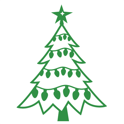 Download Christmas Tree SVG scrapbook cut file cute clipart files ...