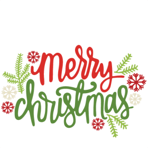 Christmas Merry Christmas Text Png