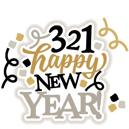 321 Happy New Year Title SVG scrapbook cut file cute clipart files ...